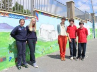Mural Depicting Listellick School Down The Years Nears Completion