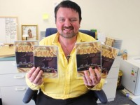 Mark Leen with his new concert DVD 'The Final Curtain' filmed at his farewell shows in the INEC back in January 2013. Photo by Dermot Crean