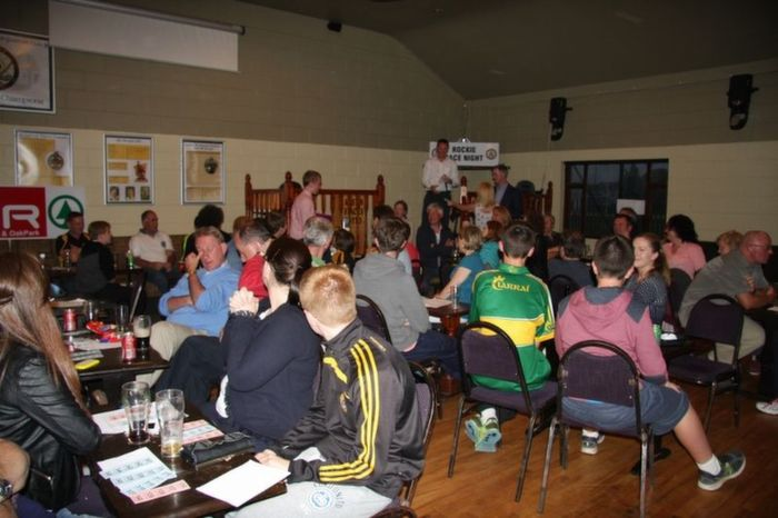 Some of the large crowd at the quiz on Friday night. Photo by Adrienne McLoughlin