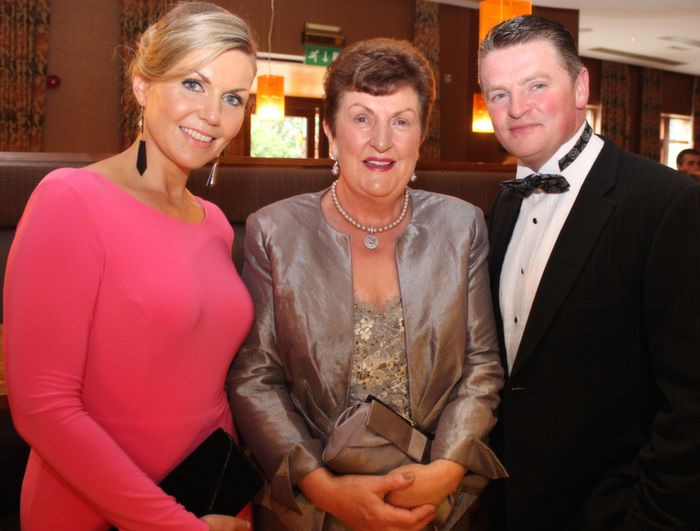 Anne, Irene and Sean O'Donnell at Oliver Hurley's 50th birthday celebrations at the Fels Point Hotel on Friday night. Photo by Dermot Crean