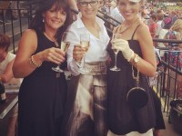 Orlagh Winters with mother and daughter Liz O'Gorman and Helena Hanbidge at Killarney Races last Thursday.