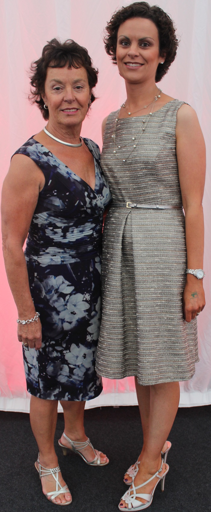 At the Rose Fashion show were, from left: Margaret O'Connor and Charlotte Reidy. Photo by Gavin O'Connor.