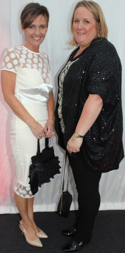At the Rose Fashion show were, from left: Mary Kelliher and Olga Ryan. Photo by Gavin O'Connor.