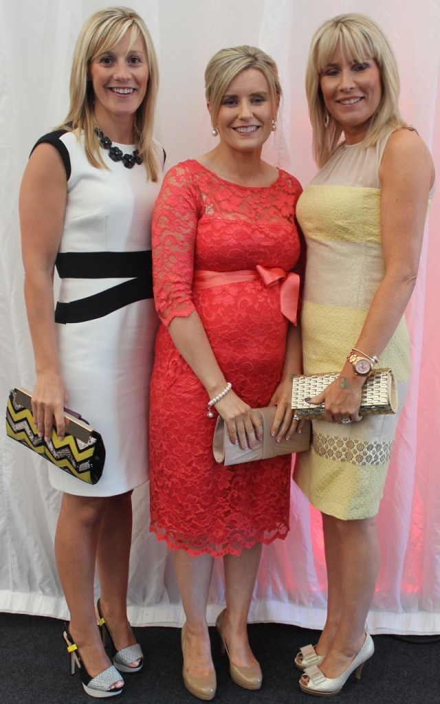 At the Rose Fashion show were, from left: Breda Shanahan, Veronica Slattery and Marie Cantillon. Photo by Gavin O'Connor.