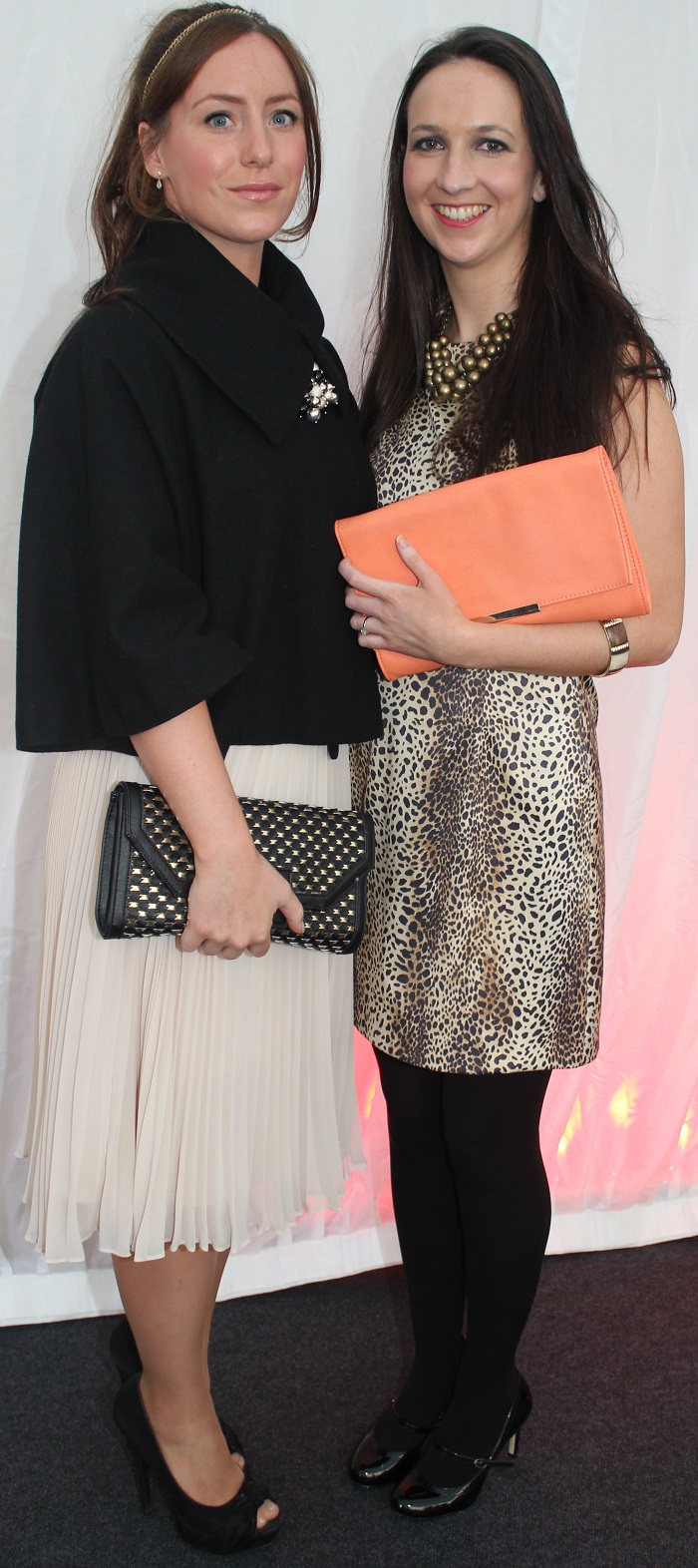 At the Rose Fashion show were, from left: Niamh Keohane and Maria O'Mara. Photo by Gavin O'Connor.