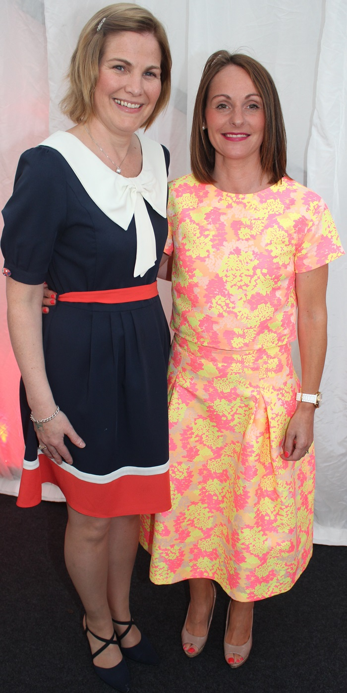 At the Rose Fashion show were, from left: Anne O'Leary and Tara O'Leary. Photo by Gavin O'Connor.