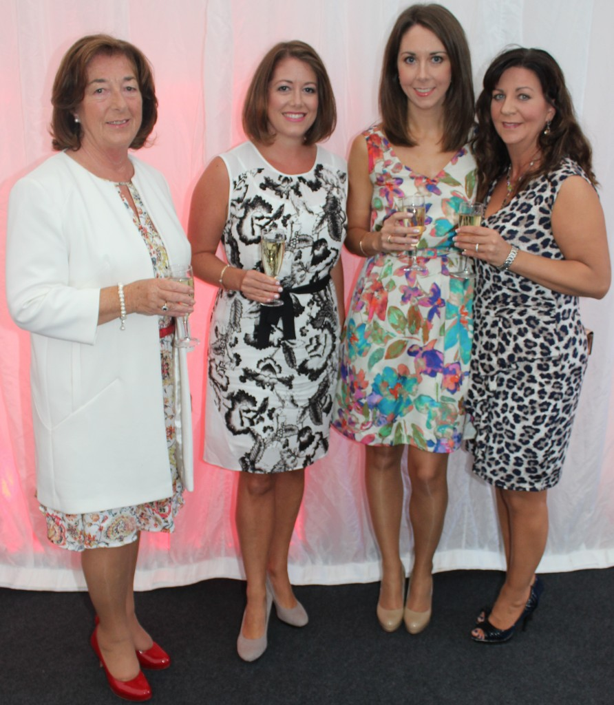 At the Rose Fashion show were, from left: Sheila Looney, Anne Looney, Ciara Looney and Teresa Lawlor. Photo by Gavin O'Connor.