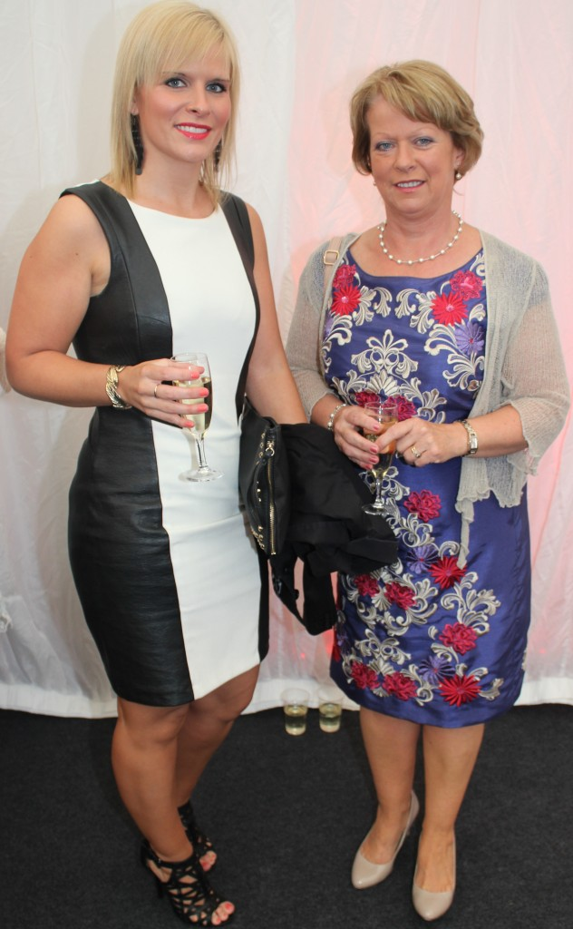 At the Rose Fashion show were, from left: Noreen and Claire Cronin . Photo by Gavin O'Connor.