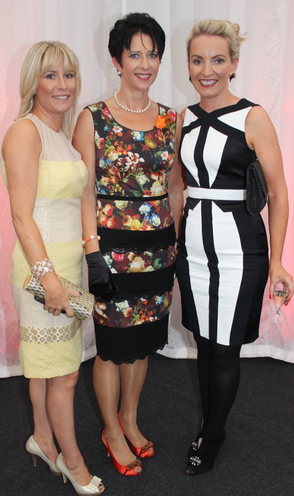 At the Rose Fashion show were, from left: Marie Cantillon, Sheila King and Rosaleen Godley. Photo by Gavin O'Connor.