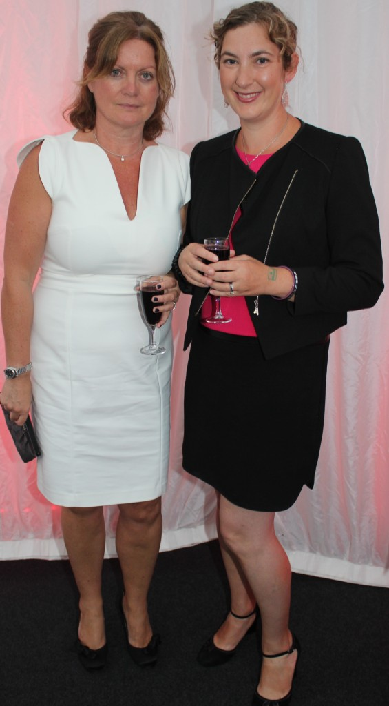 At the Rose Fashion show were, from left: Helen Fitzgerald and Sarah Boylan . Photo by Gavin O'Connor.