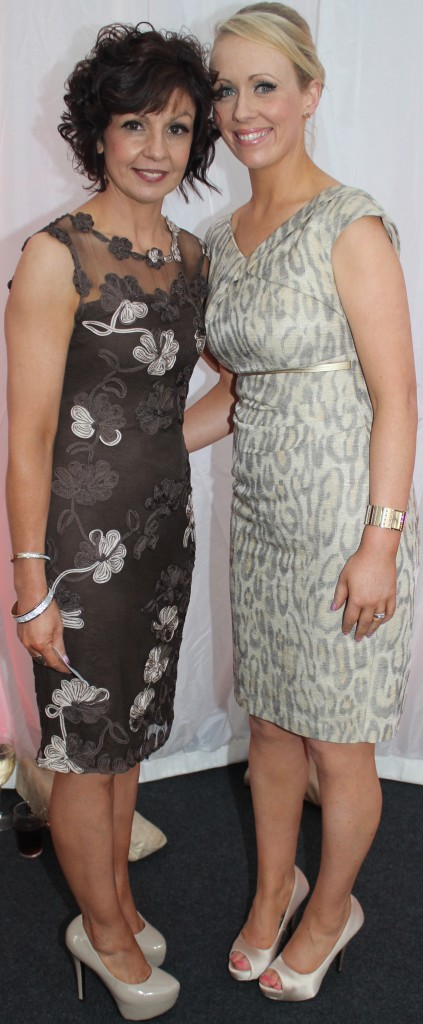 At the Rose Fashion show were, from left: Patricia O'Grady and Helen Costello. Photo by Gavin O'Connor.