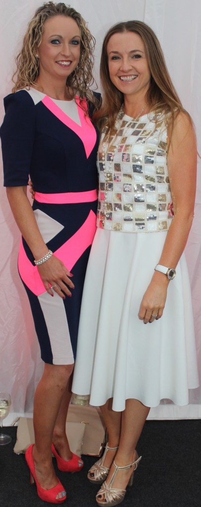 At the Rose Fashion show were, from left: Bridget Concagh and Kathleen Jeffers. Photo by Gavin O'Connor.
