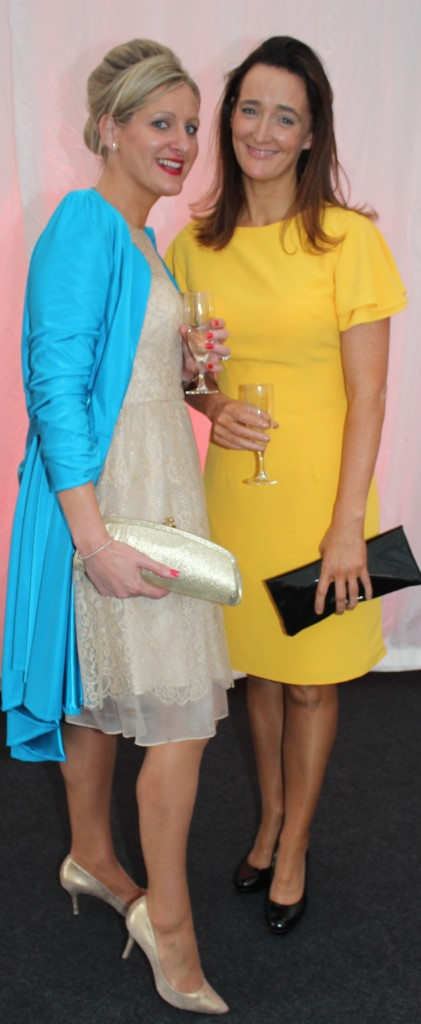 At the Rose Fashion show were, from left: Nollag McCarthy McHenry and Nicola Lynch.Photo by Gavin O'Connor.