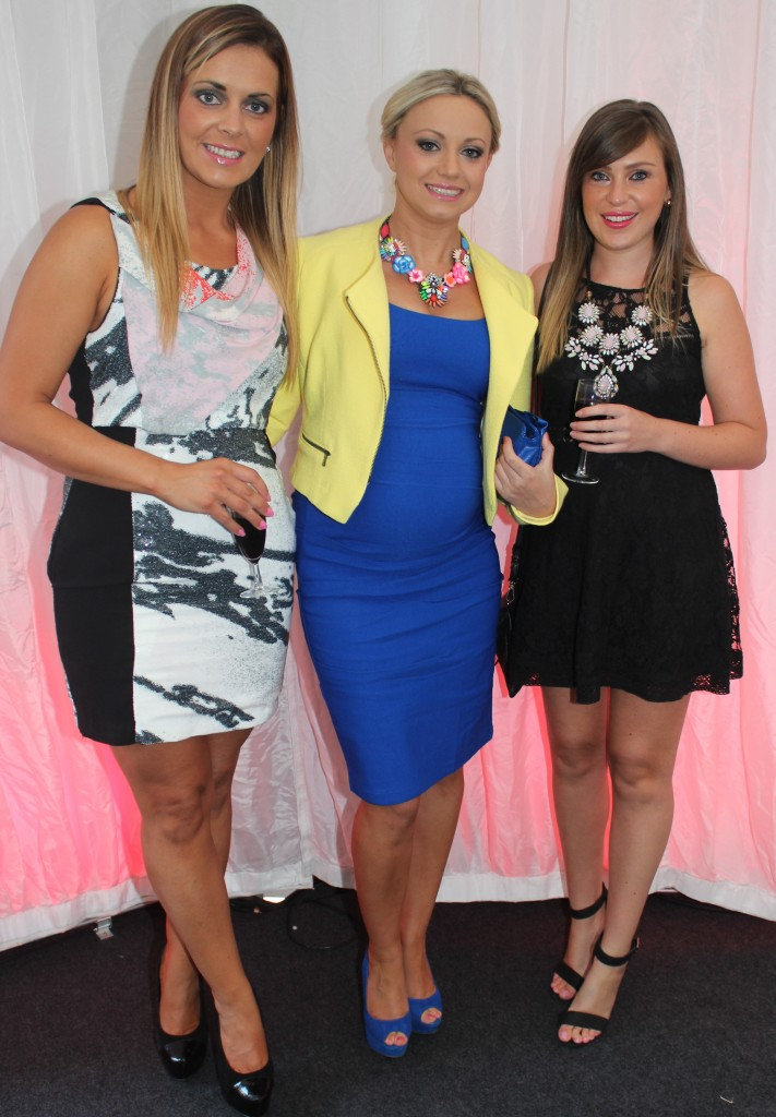 At the Rose Fashion show were, from left: Louise O'Sullivan, Siobhan Sentry and Karen Fitzgerald. Photo by Gavin O'Connor.