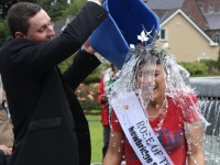 Video/Pictures: Rose Of Tralee Takes Ice Bucket Challenge In The Park