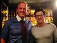 Sean O'Sullivan with Rory McIlroy.