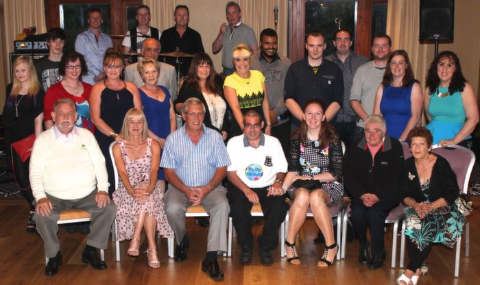 At the fundraiser and 40 birthday celebrations for Darren Mullery. Photo by Gavin O'Connor.