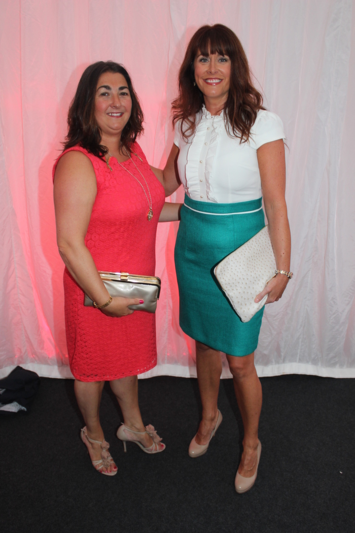 At the Rose fashion show on in the Dome, were from left: Diane O'Shea and Tracy Bulger. Photo by Gavin O'Connor.
