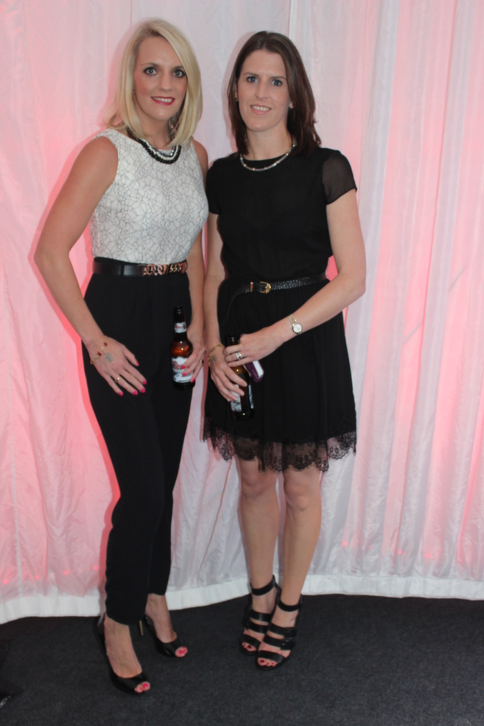 At the Rose fashion show on in the Dome, were from left: Susan Sheehy and Fiona O'Shea. Photo by Gavin O'Connor.