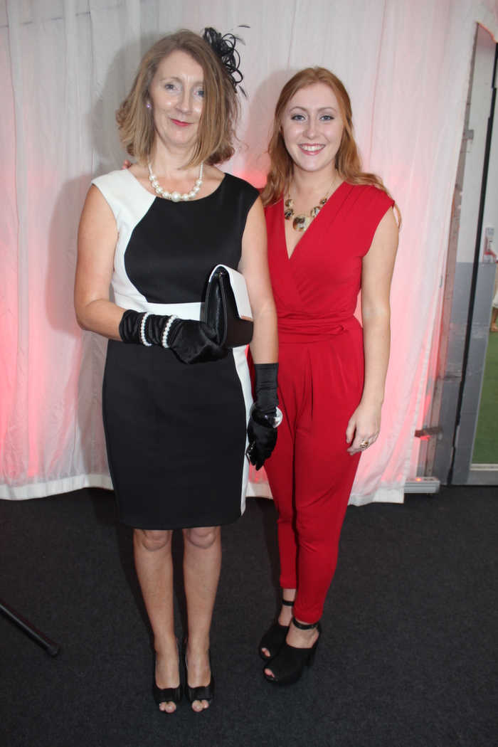 At the Rose Fashion show were, from left: Mary and Aisling Dowling. Photo by Gavin O'Connor.