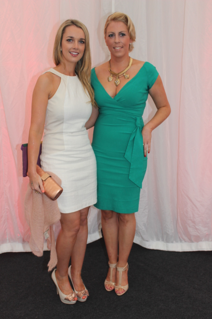 At the Rose Fashion on in the Dome, were from left: Mona O'Donoghue, Denise O'Riordan. Photo by Gavin O'Connor.