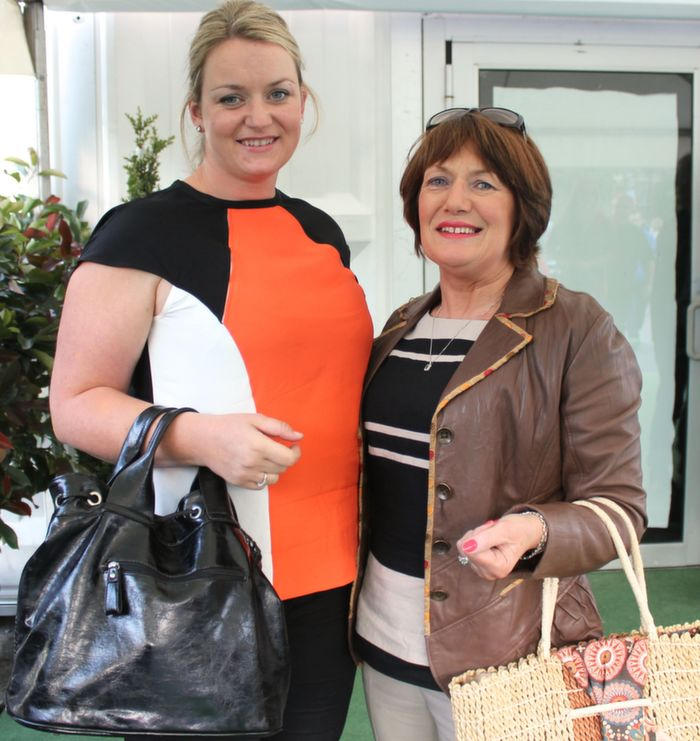 Anne and Grainne Browne, Castleisland and Kenmare, who went to the Nathan Carter concert at the Dome on Thursday night. Photo by Dermot Crean