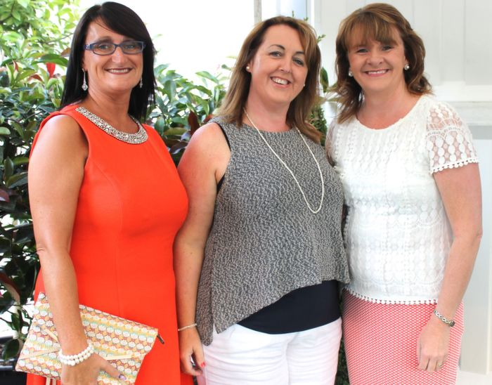Aileen Riordan, Geraldine Hurley and Marie Hanafin who went to the Nathan Carter concert at the Dome on Thursday night. Photo by Dermot Crean