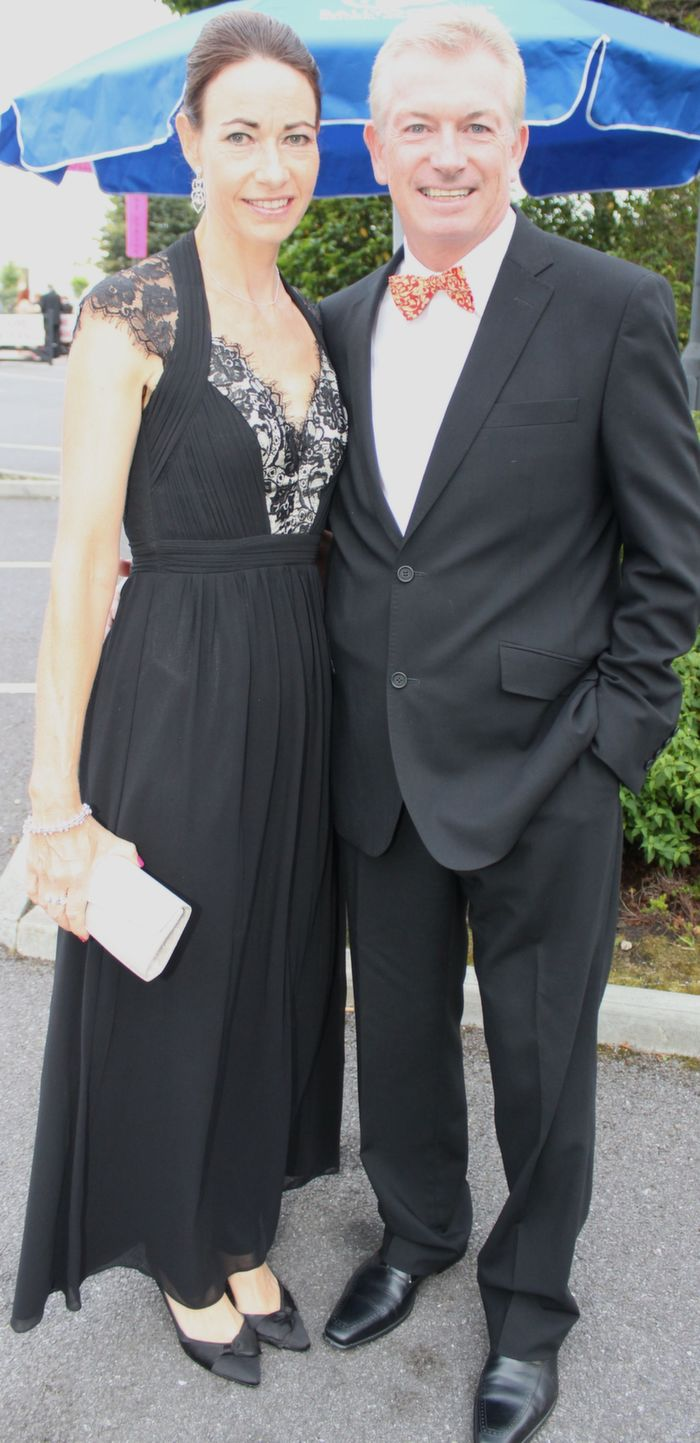 Jackie and Kieran Ruttledge at the Rose Ball in The Dome on Friday night. Photo by Dermot Crean