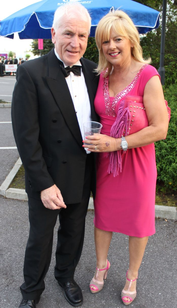 Jimmy and Mary Deenihan at the Rose Ball in The Dome on Friday night. Photo by Dermot Crean