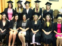 The graduates from Sanctuary Beauty Academy at their graduation ceremony on Thursday evening in the Brandon Hotel. Front from left; Rosemary Herlihy, Camp, Sinead Sheahan, Killarney, Siobhan Farrell, Keel, Danielle Mannix, Farranfore, Marilyn O'Brien, Killarney, Ena Russell, Tipperary. Back row; Niamh Counihan, Nicola Walsh, Tralee, Leonora Stack, Killarney, Rachel O'Halloran, Ballyheigue and Kathleen O'Connor, Dingle.