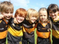 Some of the U6 group that took part in the Austin Stacks GAA Summer Camp. By Gavin O'Connor.