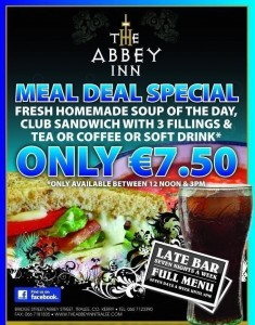 Abbey meal