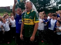 VIDEO: CBS and Caherleaheen Staff Brave The Ice Bucket Challenge