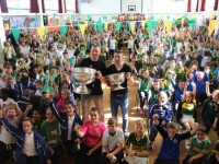 Photos: Kerry Players Get A Grilling From CBS Primary Pupils