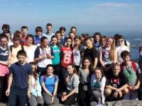 Photos: Gaelcholáiste's New TY Group Takes A Hike