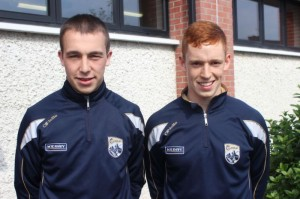 Kerry Minors Andrew Barry and Jack Morgan. Photo by Gavin O'Connor.