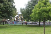 The Town Park playground.