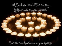 Candlelight Vigil In Pearse Park To Mark World Suicide Day