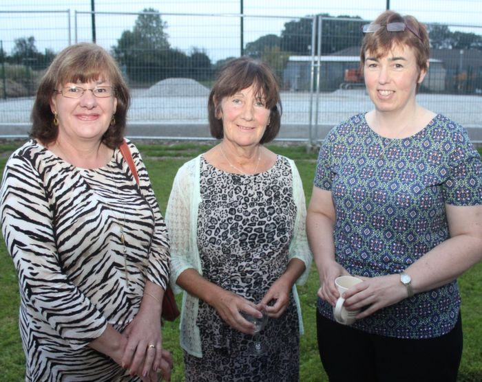 Imelda Cooke Daly, Fidelma Thornton and Noreen Ashe who completed their VTOS studies and attended the annual awards ceremony on Thursday evening. Photo by Dermot Crean
