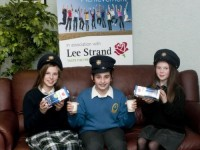Launching the Lee Strand Garda Achievement Awards at Lee Strand Headquarters, Tralee l-r: Niamh Rahilly, Ailbhe Mangan and Eve Creedon.   Photo by Eye Focus LTD. Tralee, Co Kerry Ireland. Phone :Mobile  087/2672033 L/line : 066/7122981.