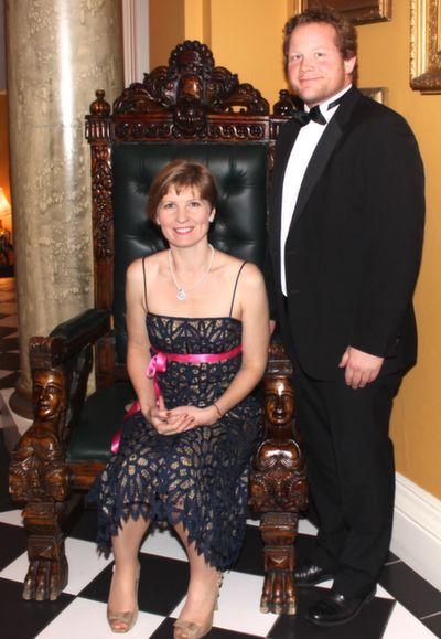 Heidi and Daniel Giles at the Rotary Club Gala Ball in Ballyseede Castle Hotel on Friday  night. Photo by Dermot Crean
