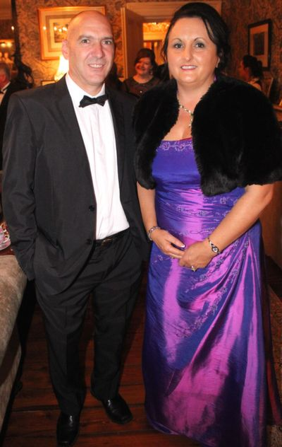 Inigo Sertutxa and Clodagh Moynihan at the Rotary Club Gala Ball in Ballyseede Castle Hotel on Friday  night. Photo by Dermot Crean