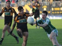 Denis Mcellgott in action for Austin Stacks in the 2014 Munster semi-final. Photo byb Dermot Crean