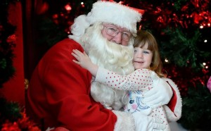 Santa is coming to Manor West Retail Park. Photo by Gavin O'Connor.