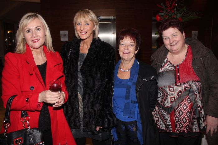 At the Fels point Corporate Night were, from left: Katie Hassett, Mia Mansfield, Joan O'Regan, Triona Hoolahan. Photo by Gavin O'Connor.