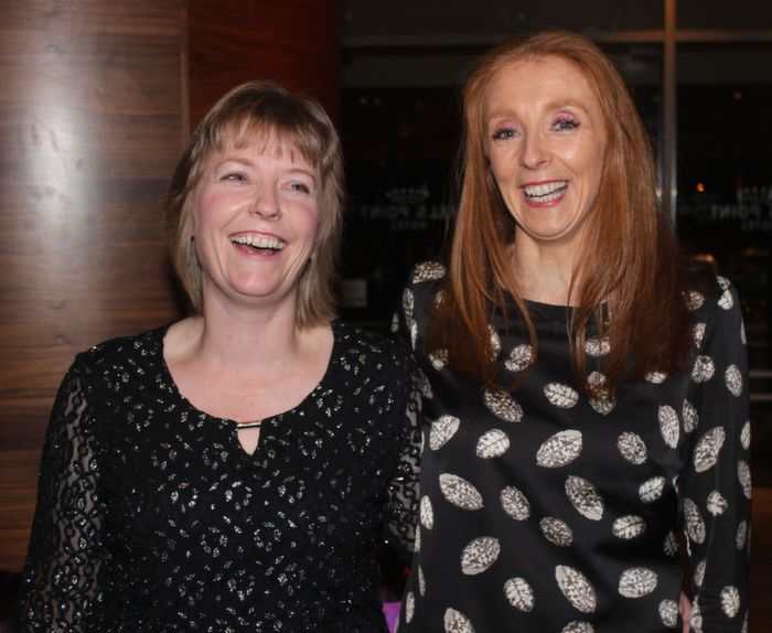 At the Fels point Corporate Night were, from left: Heidi and Hazel O'Sullivan. Photo by Gavin O'Connor.