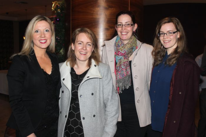 At the Fels point Corporate Night were, from left: Nicola O'Sullivan, Rina, Denise and Sarah Kelliher. Photo by Gavin O'Connor.