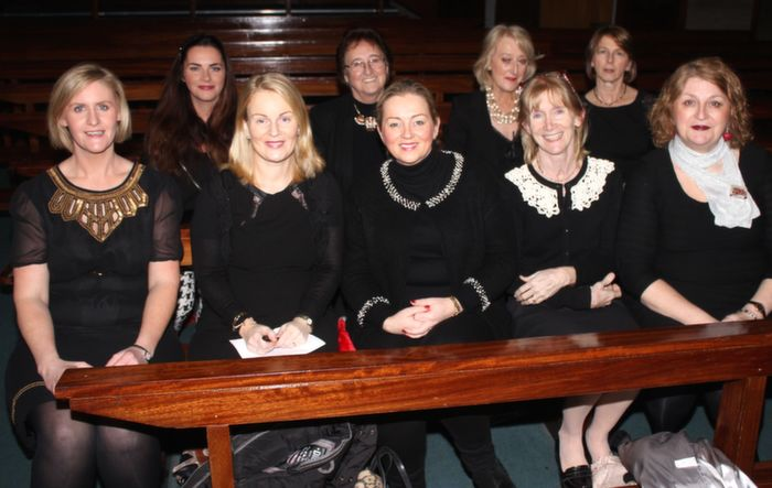 At a Mercy Mounthawk Christmas Carol on in St Brendan's Church were, from left front row: Sinead Muldoon Walsh, Noreen Summers, Suzanne O'Halloran, Noreen Sheldan and Mary Barry. Back row: Katrina O'Sullivan. Sr Maureen, Bernie O'Herlihy and Teresa Sheehy. Photo by Gavin O'Connor.