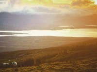 The view from Short Mountain on the Slieve Mish Mountains