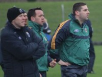 Kerry legends, Seamus Moynihan and Darragh O'Se are involved with this year's U21. Photo by Dermot Crean.
